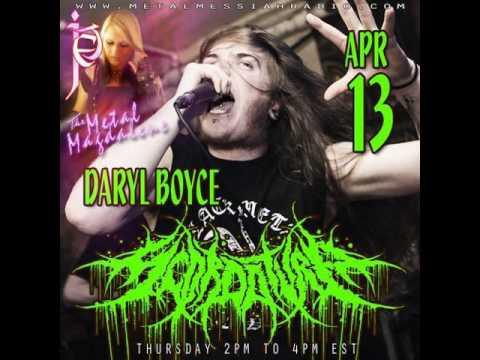 Daryl Boyce of Scordatura interview on Metal Messiah Radio