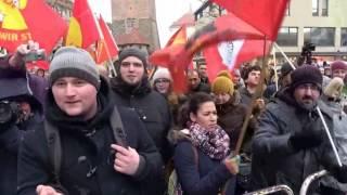 Religionsfreiheit für Gewalt? Interview mit linken Gegendemonstranten von Pegida Nürnberg