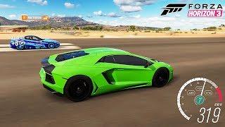 Süper Arabalar İle Drag Yarışları Yapıyoruz! Forza Horizon 3