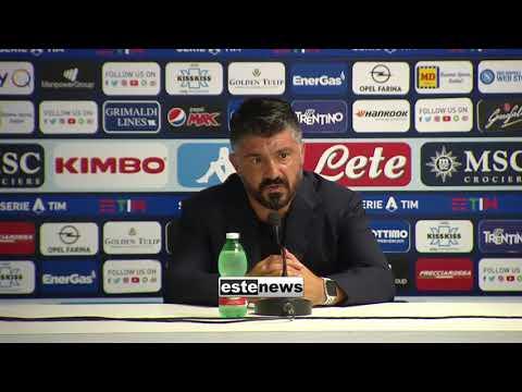 Napoli-Roma 2-1, Gattuso: 'Costruiamo mentalità vincente. Squadra sul pezzo dopo parole di Bergamo'