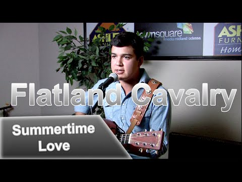 Cleto Cordero of Flatland Cavalry - 'Summertime Love' In the Ashley Furniture Hangout Lounge