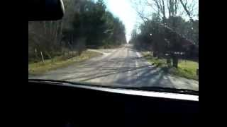 driving around Indian River backroads