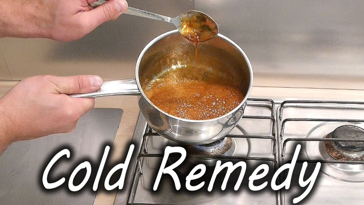 Home Made Cold and Flu Remedy - YouTube