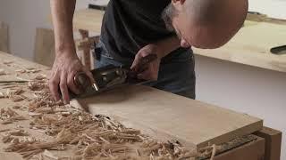 Jak bez użycia maszyn wyrównać deskę? Wood Workshop