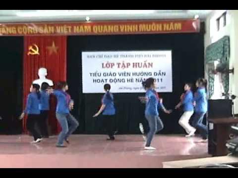 Múa thiếu nhi hè 2011 - Chap canh uoc mo