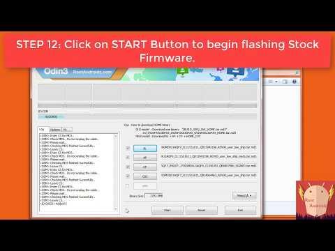 GALAXY J7 (2017) SM-J730F/FN/G All Models Stock Firmware Flashing