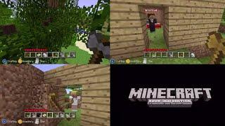 Minecraft - XBOX 360 - Dİe ersten 2 Stunden im Splitscreen (HD) - MarcTV.de