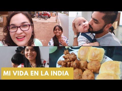 Vlog146: Eso me pasa por no mirar+ Snacks Callejeros de India. Mi vida en la India thumbnail