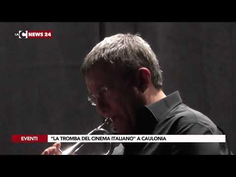 """""""La tromba del cinema italiano"""" a Caulonia"""