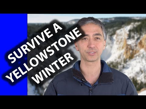 How to SURVIVE in YELLOWSTONE in the WINTER