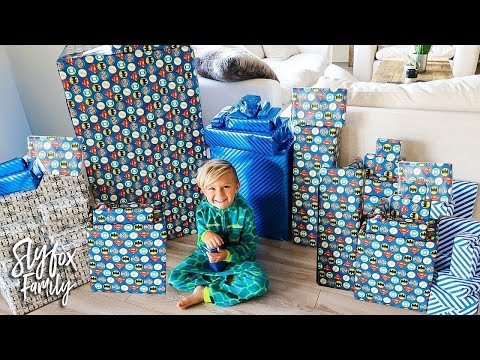 🎂 CASPIAN'S 5th BIRTHDAY SPECIAL MORNING PRESENT OPENING!! 🎁