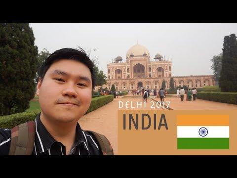 พาเที่ยว Delhi, India Humayun's tomb, Red fort, Jama Masjid