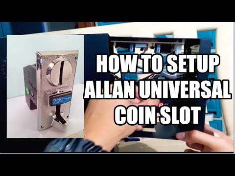 How To Setup Allan Universal Coin Slot TAGALOG | Pisonet Builders Hub