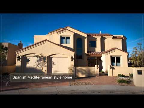 Spanish Mediterranean New Home Albuquerque New Mexico