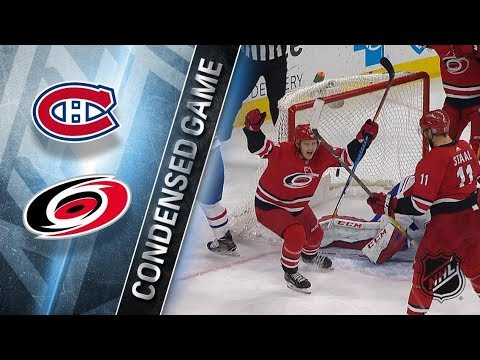Montreal Canadiens vs Carolina Hurricanes – Dec. 27, 2017 | Game Highlights | NHL 2017/18. Обзор