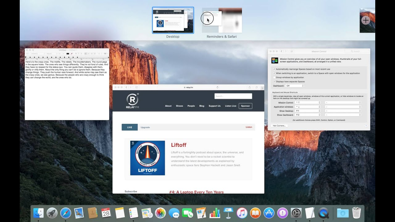 OS X El Capitan Review – 512 Pixels