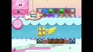 How to beat level 1057 in Candy Crush Saga!!