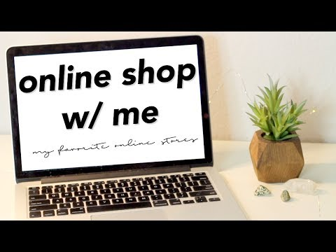 online shop with me // my favorite online stores (pre-fall)