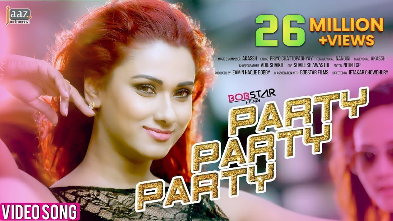 Download Party Party Party Full Video Song | Bobby | Raanveer | Akassh | Nandini | Iftakar Chowdhury