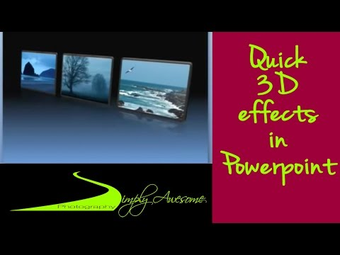 PowerPoint made Easy - Make 3D Effects in Minutes