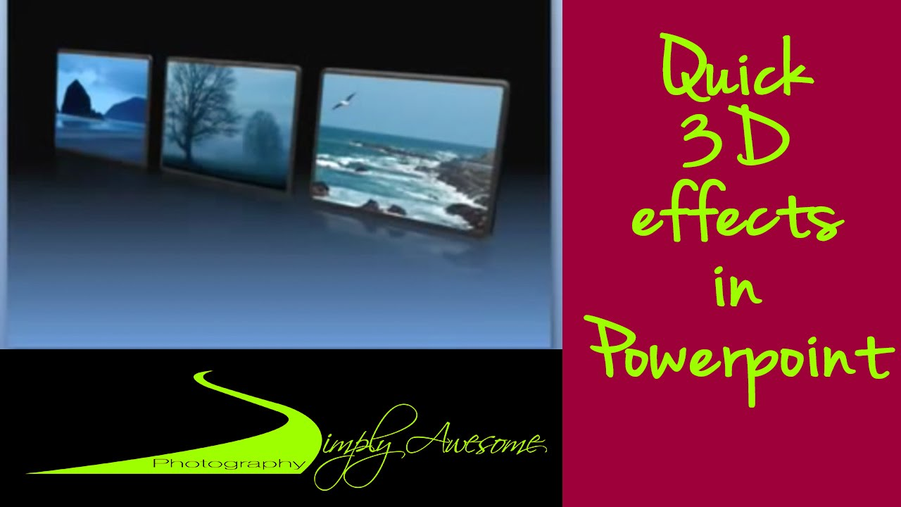 powerpoint made easy make 3d effects in minutes youtube