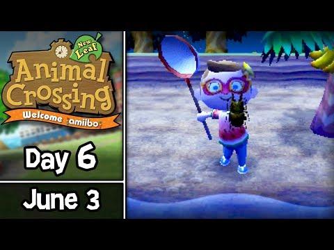 animal-crossing:-new-leaf,-day-6:-money-making-island-bugs!-•-june-3-•-welcome-amiibo-update
