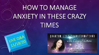 Healing and learning to manage Anxiety