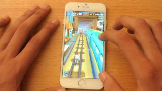 iPhone 6 Subway Surfers Gameplay Review HD