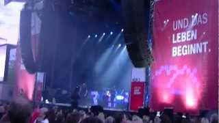 Rea Garvey - Can't stand the silence @ NDR2 1.6.2012 Hannover