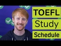 TOEFL Study Plan (1 Month)