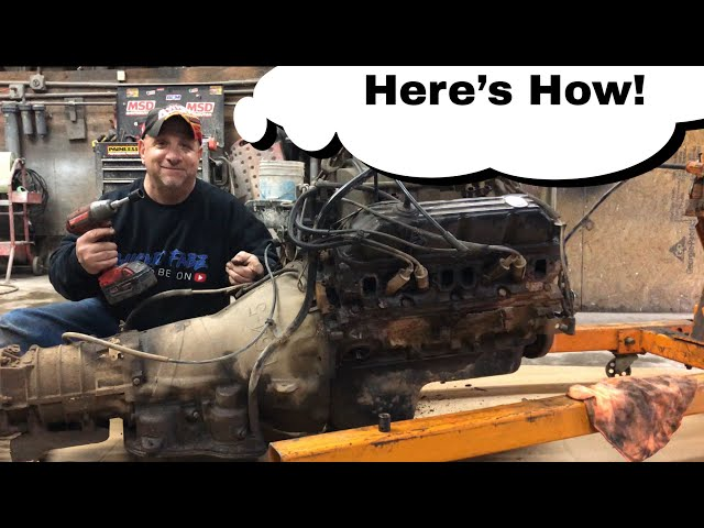 2nd Gen Ram | Separating The Transmission From The Engine | SEMA Truck Build
