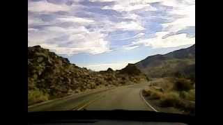 drive into Palm Springs, CA from highway 111