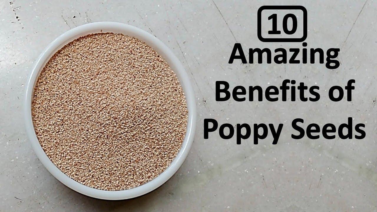 Poppy Seeds Will Melt Kidney Stones - Telugu Health News