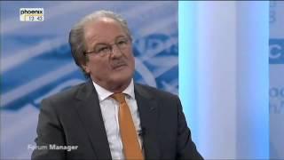 Wolfgang Reitzle: Griechenland wird seine Schulden nie zurückzahlen können