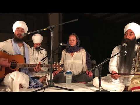 Hardev Singh -  3HO Summer Solstice 2018 Rensabhai Kirtan
