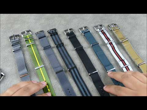 On the Wrist, from off the Cuff:  Premium NATO Strap Face-Off – Which are worth your money?