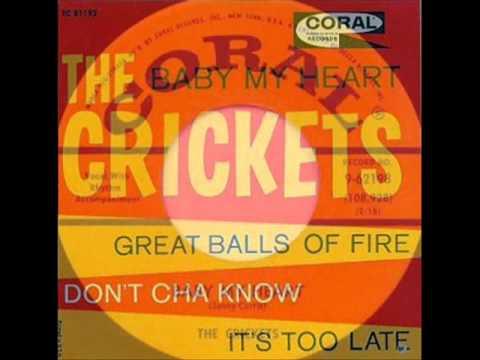 The Crickets - Baby My Heart