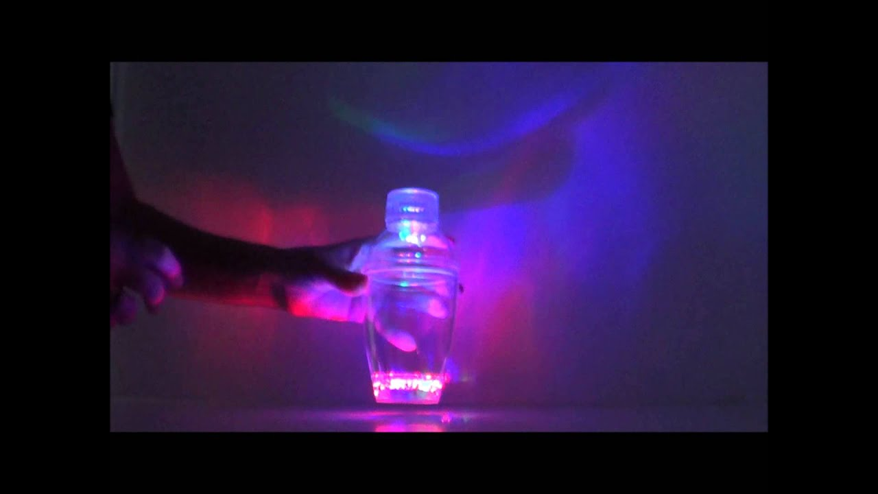 led cocktail shaker light up pool party drink ideas youtube