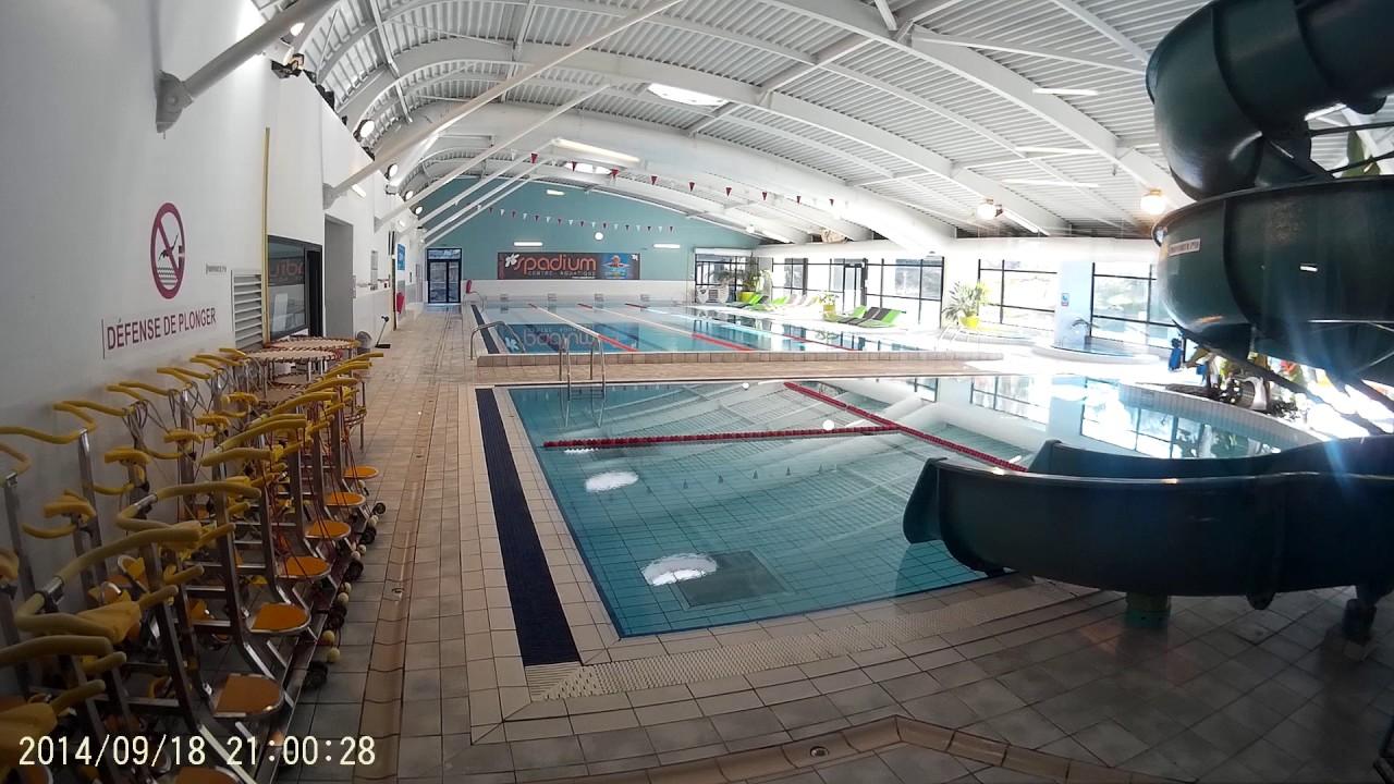 Visite piscine spadium de monts 37 youtube for Piscine saint gregoire