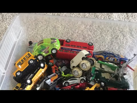 Playing with my cousin Greg's cars
