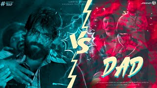 MAARI x ROCKY | DIALOGUES WAR | LUCKY DJ | IF YOU ARE BAD I AM YOUR DAD | VIDEO SONG 2021