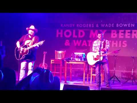 Randy Rogers & Wade Bowen - The Chair - 14 July 2016 @ Floores Country Store .. Helotes, Texas