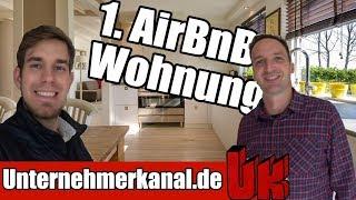 Gambar cover Bei AirbnB vermieten? Unsere erste Wohnung für AirBnB Arbitrage!