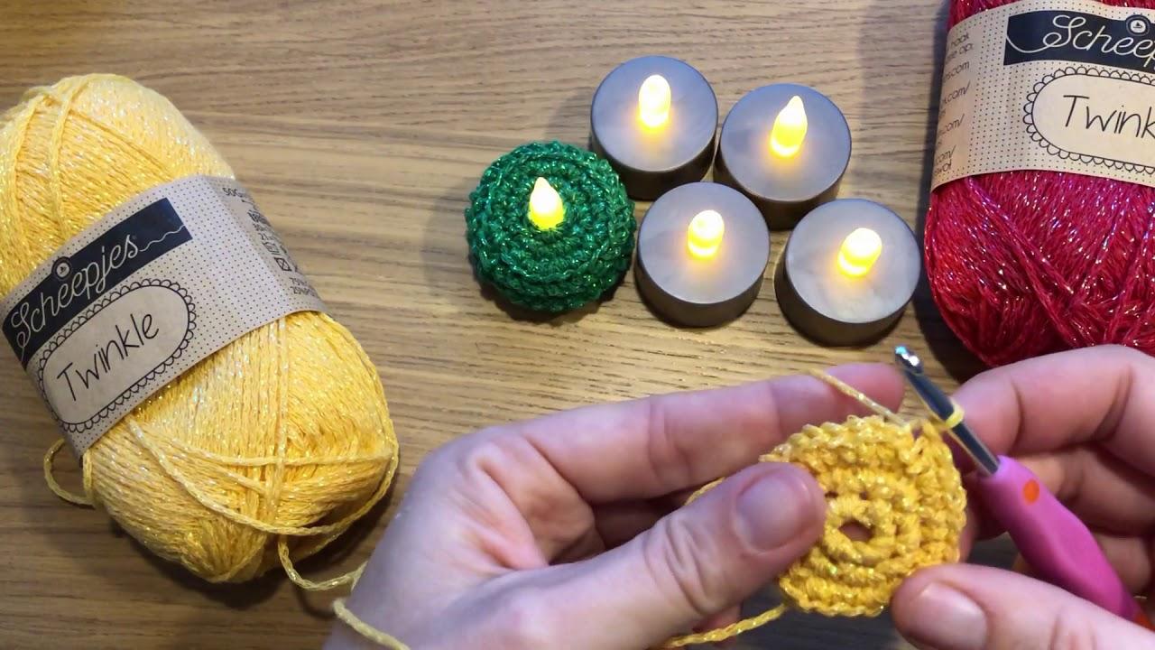 Led Thee Lichtjes Waxinelichtjes Omhaken Voor De Kerst Met Vasten