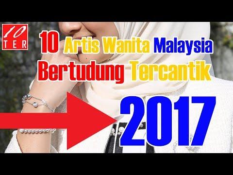 10 Artis Wanita Malaysia Bertudung Tercantik 2017 | 10TER