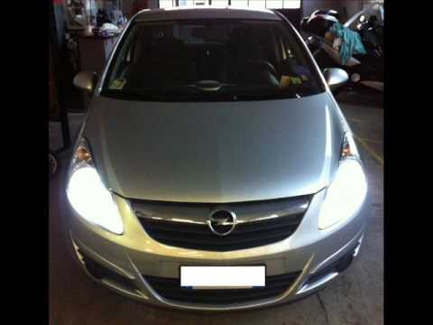 kit xenon opel corsa d 2009 youtube. Black Bedroom Furniture Sets. Home Design Ideas