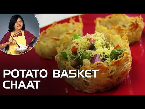 Potato Basket Chaat With Master Chef Tarla Dalal