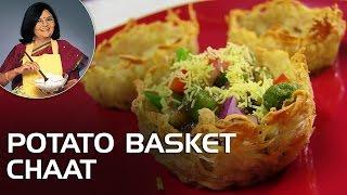 Potato Basket Chaat With Master Chef Tarla Dalal