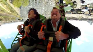 Brooke Diaz on Brain Drain at Elitch Gardens