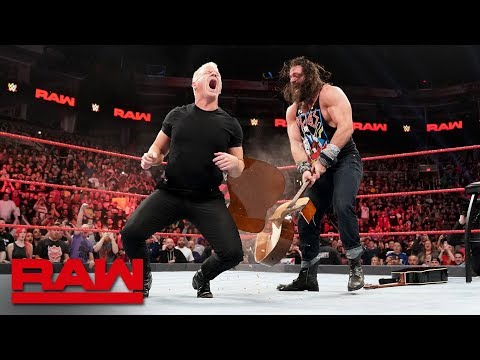 Elias Bashes Jeff Jarrett And Road Dogg With Guitars: Raw, Jan. 28, 2019